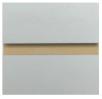 Melamine Slatwall Panel Solid Colors